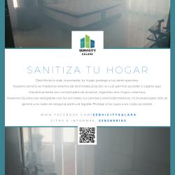 Sanitiza tu hogar